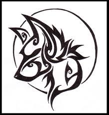 stalking tribal wolf design by wildspiritwolf on deviantart