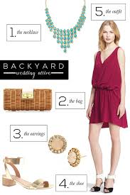 Dress For Backyard Wedding by Naina Singla Fashion Stylist And Style Expert Blog What To