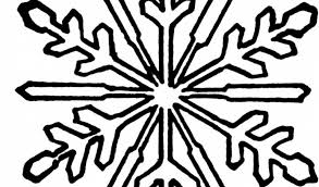 snowflake coloring pages kindergarten 31675