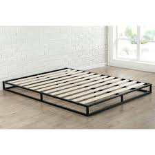 Low Profile Bed Frame King Low Profile Bed Frame How High Is A Platform Metal