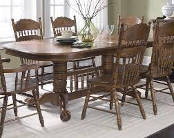 oak dining room tables dark oak dining table deep brown dining