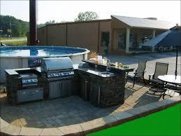 Bbq Outdoor Kitchen Islands Kitchen Outdoor Kitchen Island With Refrigerator Outdoor Grill