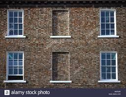 blind windows to georgian building tower street near york castle