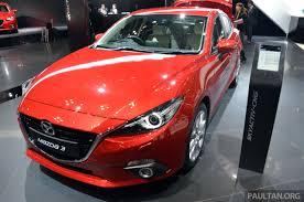 Mazda 3 Hatchback Hybrid Tokyo 2013 Mazda3 Hybrid And Cng Concept Image 213592