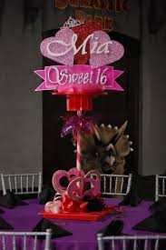 Centerpieces For Sweet 16 Parties by Mia Sweet 16 Centerpiece Quinceanera Pinterest Sweet 16
