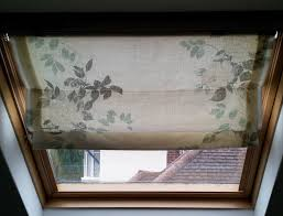 roman blinds for velux attic windows u2013 how i made them