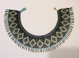 collar necklace beads images Fringed seed bead collar necklace huichol necklace beads jpg