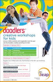 doodlers creative workshops for kids ileap indiranagar