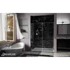 dreamline shdr 1960723r 04 mirage x brushed nickel shower doors