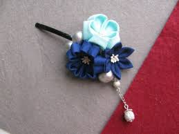 japanese hair accessories japanese traditional style kimono cloth flower hairpin yukata