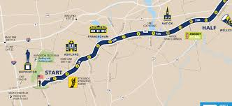 Mass Pike Exits Map Road To Boston Marathon 2016 Find Your Finish Line