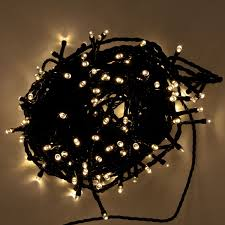 led fairy lights with timer battery operated 2m length of 192 warm white indoor outdoor multi