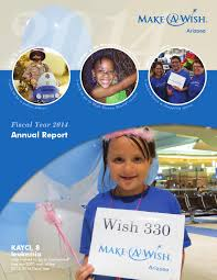 lexus financial report 2014 make a wish arizona 2014 2015 fiscal year annual report by make a