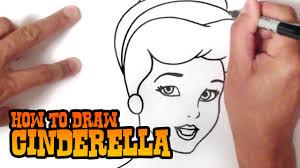 draw cinderella step step video