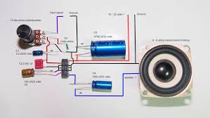 2 5 watts amplifier lm380n stable wiring