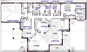 Four Bedroom Floor Plan by 39 8 Bedroom House Floor Plans Free House Floor Plan Design 8