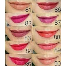 Lipstik Purbasari Nomor 90 lipstik purbasari color matte elevenia