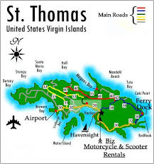 st islands map st island road map vacation destinations