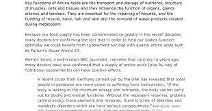 purium master amino acid pattern amino acid benefits amino 23 a listly list