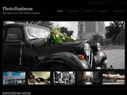 photobusiness free website template free css templates free css