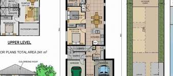 House Plans For Narrow Lot 100 2 Bedroom House Plans For Narrow Lots Trailbridge