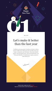 christmas and new year multipurpose responsive email template with