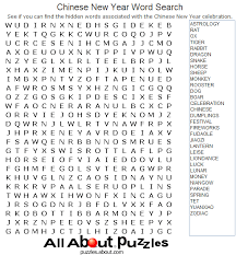 print out these fun word search puzzles word search chinese new