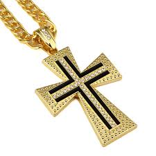 aliexpress buy nyuk mens 39 hip hop jewelry iced out aliexpress buy nyuk gold cross pendant necklace