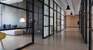bureau vitre cloisons de bureaux vitrée pleine semi pleine solutions sur