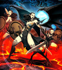 furies erinyes mythical creature greek gods and goddesses
