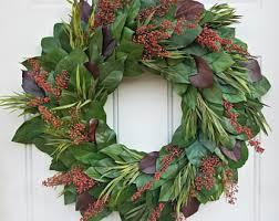 large wreath etsy
