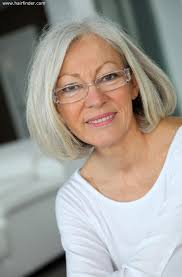 perms for older grey hair women young hairstyles for a lady with white hair