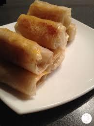 cuisiner des nems nems chèvre miel poires recettesansfour com
