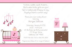 Sample Invitation Card For Event Baby Shower Invites Theruntime Com