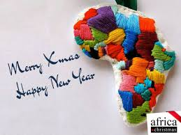 africa map by year merry to you and happy new year africa