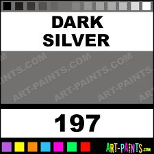 dark silver artists acrylic paints 197 dark silver paint dark