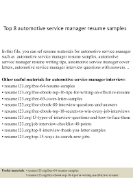 Sample Resume For Project Manager by Sap Service Management Resume