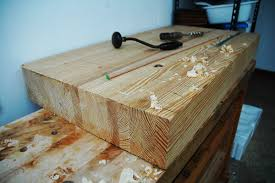 laminated wood table top 160 4 hour glulam workbench build part 1