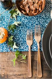 moody thanksgiving table inspiration with birch brass vintage