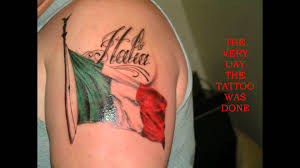 Scottish Flag Tattoo Italian Flag Tattoo Photos Pictures And Sketches Tattoo Body Art
