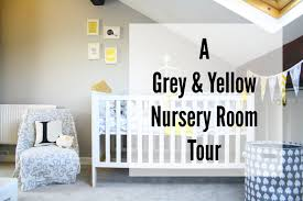 Grey And Yellow Nursery Decor by A Grey And Yellow Nursery Tour Youtube