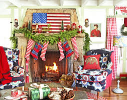 fireplace terrific christmas fireplace with stockings for living