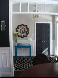 Modern Main Door Designs Interior Decorating Terms 2014 by 11 Reasons To Paint Your Interior Doors Black