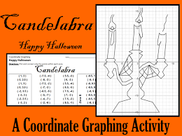 halloween coordinate graphing activities mike u0027s math market