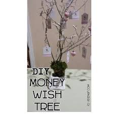 wedding wish trees diy money or wish tree