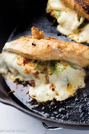 easy caprese stuffed chicken breast and the kitchen