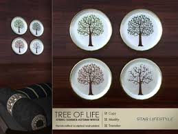 tree of life home decor second life marketplace star lifestyle home decor sculpted wall
