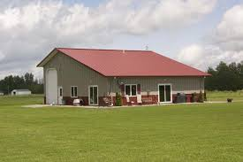 Small Metal Barns Fantastic Metal Building Home W Detached Garage 10 Hq Pictures