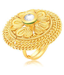 golden rings online images Sukkhi golden rings buy sukkhi golden rings online in india on jpg