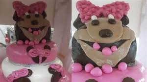 minnie mouse cakes minnie mouse cake fail going viral on reddit today